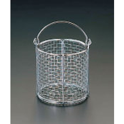 Round Type Parts Washing Basket [Stainless Steel] EA992CF-12