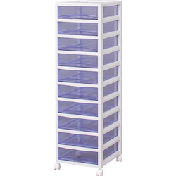 Super Clear Chest Shallow Drawer-Type