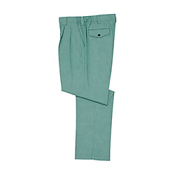 Double-Pleated Pants
