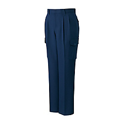 Stretch Double-Pleated Cargo Pants