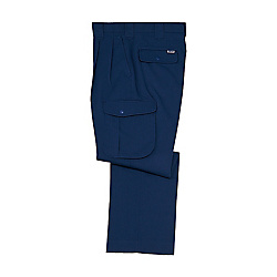 Anti-Static Stretch Double-Pleated Cargo Pants