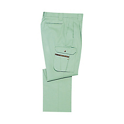 Double-Pleated Cargo Pants
