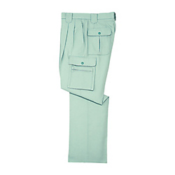Anti-Static Double-Pleated Cargo Pants