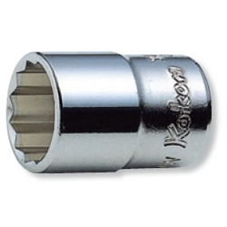 "Hand Socket 3/8"" ""(9.5 mm) 12-Sided Socket (England Standard (BSW) Socket) 3405W"