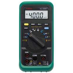 PCLink Digital Multimeter (hand-held type) KU-2600/KU-2602