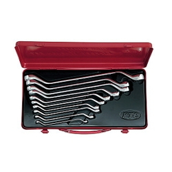 45° Long Offset Wrench Set [10 Pieces]