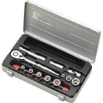 Socket wrench set (9.5 mm Insertion Angle)