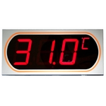 Digital LED Display Large Font Thermometer
