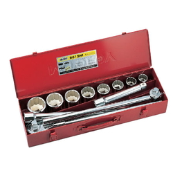 Socket Wrench Set (Standard Type) mm 8 pcs. 13 pc. set S6□M