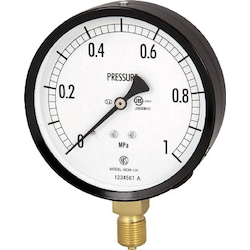 Normal Type Pressure Gauge (A Frame Vertical Type / ø100)