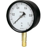 Sealed pressure gauge (A frame vertical type, ø100)