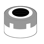 Tin Bearing Nut (for SKT/MDSK Single-Headed Wrenches)