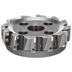 F2010 P4S90R Milling Cutter, for Shoulder Cutting (for General Cutting of Steel and Iron) Microface