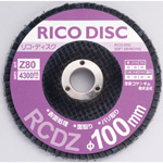 Rico Disc, φ100, Zirconia Abrasive Grains