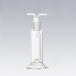 Ground Glass Joint Gas Washing Bottle with Filter Sheet