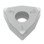 SUMIBORON Insert, Hexagon-Shape With Hole, Negative, 6NC-WNGA-HS