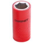 3/8 DR Insulated Socket, Hex