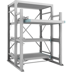 Full Slide Rack (1,000 kg/ step), comes with steel plate