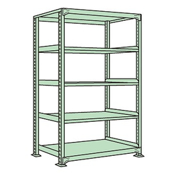 Medium/Light Duty Shelfs, NE Type (Green), Height 1800 mm
