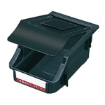 Electro-Conductive Box Z Type with Lid, Black