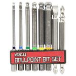 Hexagon Ball Point Bit Set (8 Piece Set)