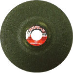 "Offset Type Cutting Grindstone ""Sever-Green"" (AZ Material)"