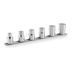 Socket Set (12-point, with Holder) HD406