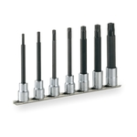 Long Torx Socket Set (Tamper-Proof Type / with Holder) HTX407HL