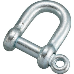 Screw Pin Shackle Steel Operating Load 1.17–19.60 kN