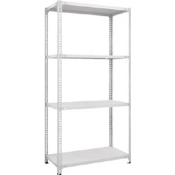 Semi-Boltless Lightweight Shelf (100 kg Type Height 1,800 mm)