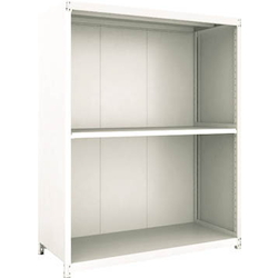 Small to Medium Capacity Boltless Shelf Model M2 (Panels Provided, 200 kg Type, Height 1,800 mm, 3 Shelf Type) Single Unit Type (Height 1,800 mm, Rear and Side Plates Provided)