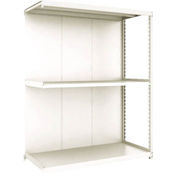 Small to Medium Capacity Boltless Shelf Model M2 (Panels Provided, 200 kg Type, Height 1,800 mm, 3 Shelf Type) Linked Unit Type (Height 1,800 mm, Rear Plates Provided)