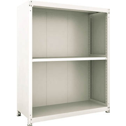 Small to Medium Capacity Boltless Shelf Model M3 (Panels Provided, 300 kg Type, Height 1,800 mm, 3 Shelf Type) Single Unit Type (Height 1,800 mm, Rear and Side Plates Provided)