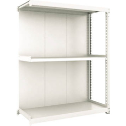 Small to Medium Capacity Boltless Shelf Model M3 (Panels Provided, 300 kg Type, Height 1,800 mm, 3 Shelf Type) Linked Unit Type (Height 1,800 mm, Rear Plates Provided)