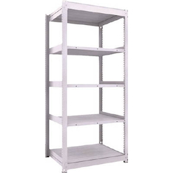 Medium Capacity Boltless Shelf Model TUG (300 kg Type, Height 2,100 mm, 5 Shelf Type) Single Unit Type (Height 2,100 mm, 5 Shelf Type)