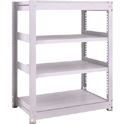 Medium Capacity Boltless Shelf Model TUG (450 kg Type, Height 1,200 mm, 4 Shelf Type) Single Unit Type (Height 1,200 mm, 4 Shelf Type)
