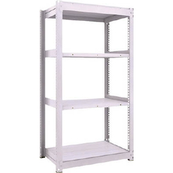 Medium Capacity Boltless Shelf Model TUG (450 kg Type, Height 1,800 mm, 4 Shelf Type) Single Unit Type (Height 1,800 mm, 4 Shelf Type)