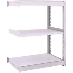 Medium Capacity Boltless Shelf Model TUG (600 kg Type, Height 1,200 mm, 3 Shelf Type) Linked Type (Height 1,200 mm, 3 Shelf Type)