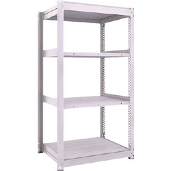 Medium Capacity Boltless Shelf Model TUG (600 kg Type, Height 1,800 mm, 4 Shelf Type) Single Unit Type (Height 1,800 mm, 4 Shelf Type)