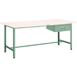 Light Work Bench with 1 Drawer Plastic Panel Tabletop Average Load (kg) 300