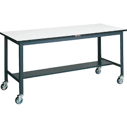 Medium Work Bench with φ100 mm Urethane Casters DAP Panel Tabletop Average Load (kg) 250