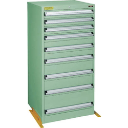 Medium Duty Cabinet, VE6S Type (3 Lock Safety Mechanism/Anti-Tip Fittings), Height 1200 mm