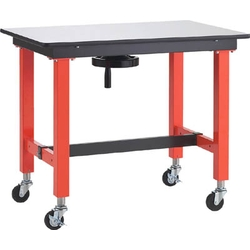 Handle Elevator Type Lightweight Workbench with Caster, Equal Load (kg) 150, Width (mm) 900