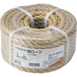 Hemp Rope, 3-stranded 6 mm x 20 m – 12 mm x 30 m