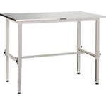 Lightweight Adjustable Height Work Bench AEM Type (H Form / SUS304-Covered Tabletop) Average Load (kg) 150