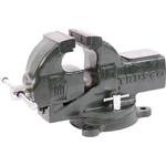 Upright Vise (Heavy-Duty Type / Round Body Shaft/with Rotary Stand)