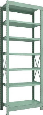 Medium Capacity Bolted Shelf Model R3 (300 kg Type, Height 2,400 mm, 7 Shelf Type)