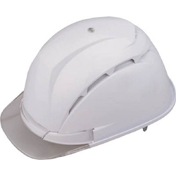 TOYO SAFETY Helmet With Ventilation Holes, White