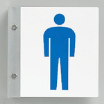 Hygiene and Cleaning Signs Protruding Signs for Washrooms