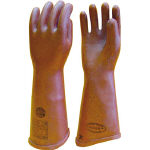 High-Pressure Rubber Gloves, Operating Voltage of 3,500 V or Less, Total Length 41 cm